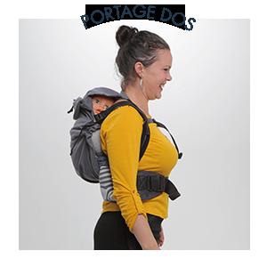 Neo Neobulle porte-bébé physiologique dos